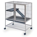 Prevue Pet Products Frisky Ferret Cage with Stand Brown 25